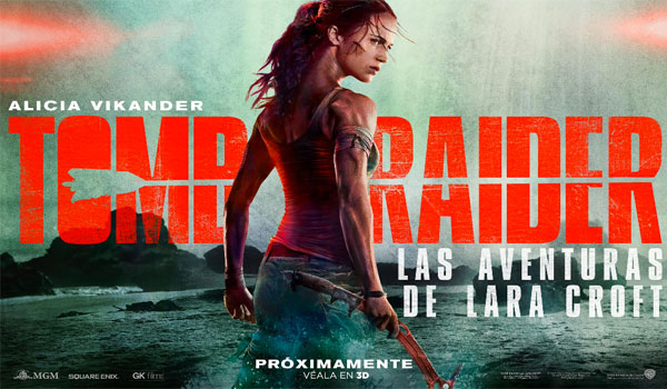 Nuevo tráiler de la película Tomb Raider, las aventuras de Lara Croft.