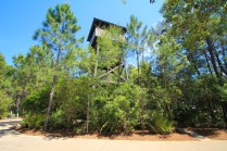 View of the watchtower from Draper Lake Coastal Village lot 4-8