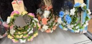 ダイソーのハロウィンヘアアクセの帽子