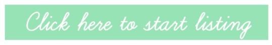 teal start listing bar
