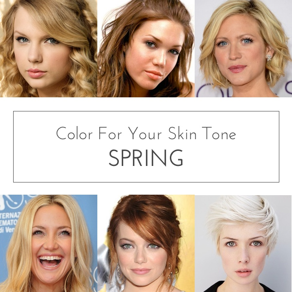Color for Your Skin Tone: Spring