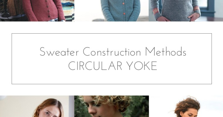 sweater construction circular yoke