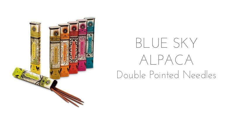 blue sky alpaca double pointed needles