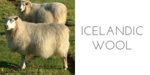 fiber types icelandic wool