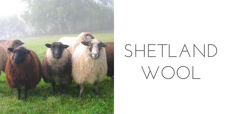 fiber types shetland wool