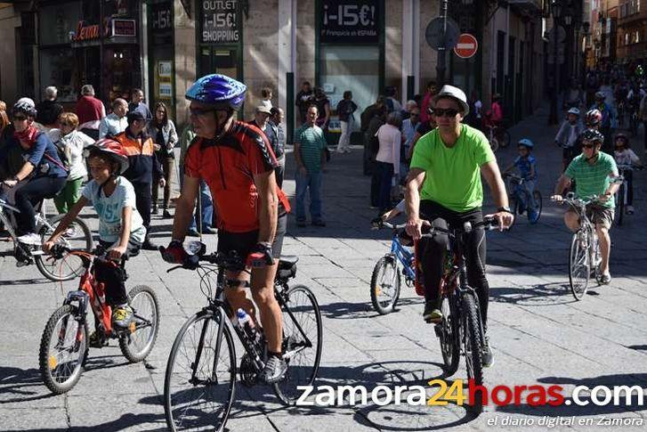 Zamora se sube a la bici - 30 días en bici