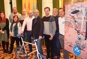 Foto de Equipo 30DEB y concejales de Gijón - 30 Días en Bici
