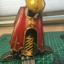 ForgeWorld Warlord Titan Foot