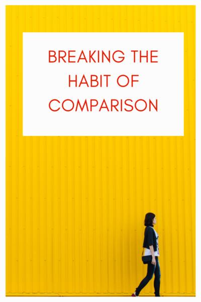habit of comparison