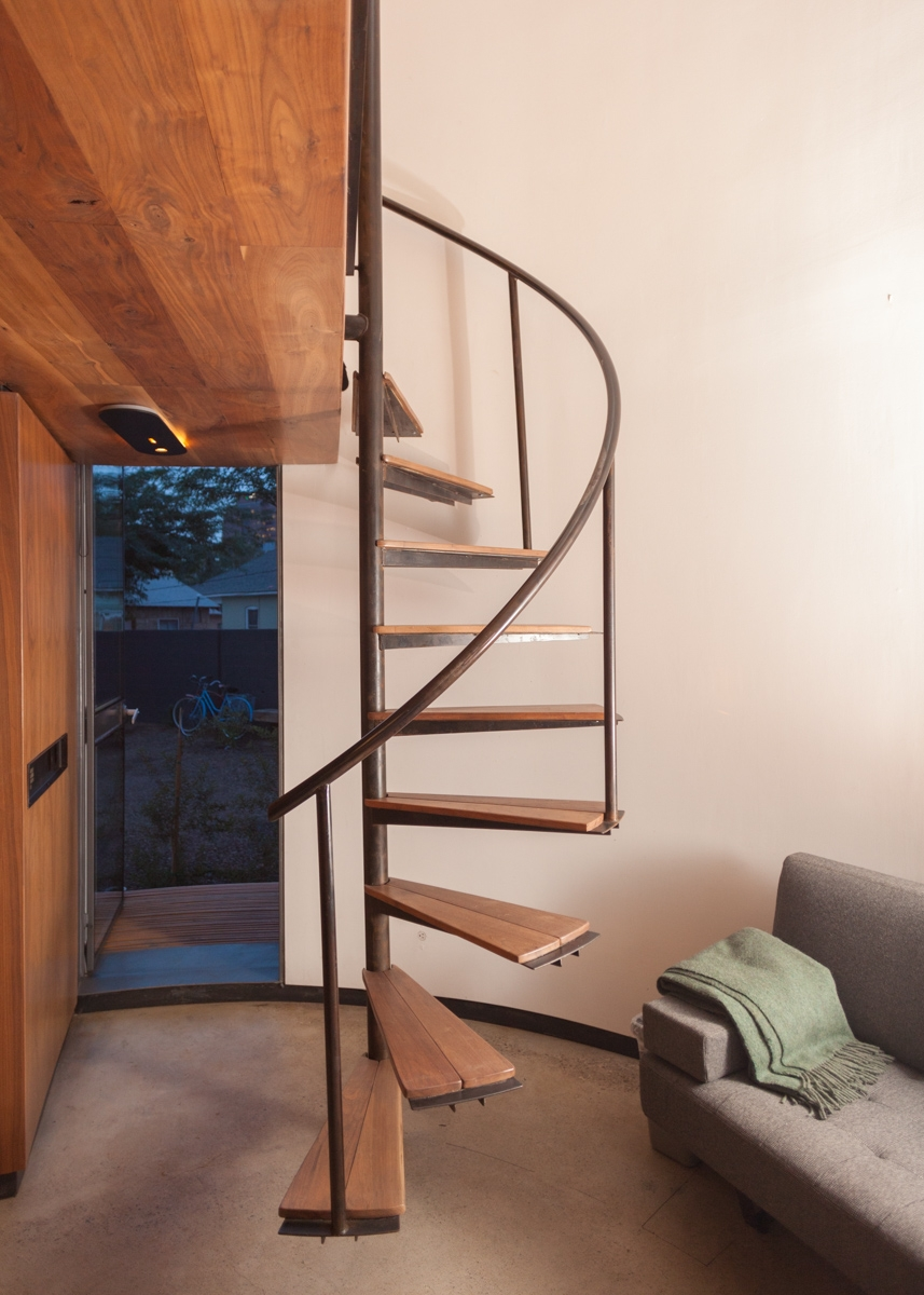 Architect Turns Old Grain Silo Into His Home And The Interior Is   Spiral Staircase For Sale Craigslist   Wrought Iron   Railing   Stairway   Staircase Kits   Handrail