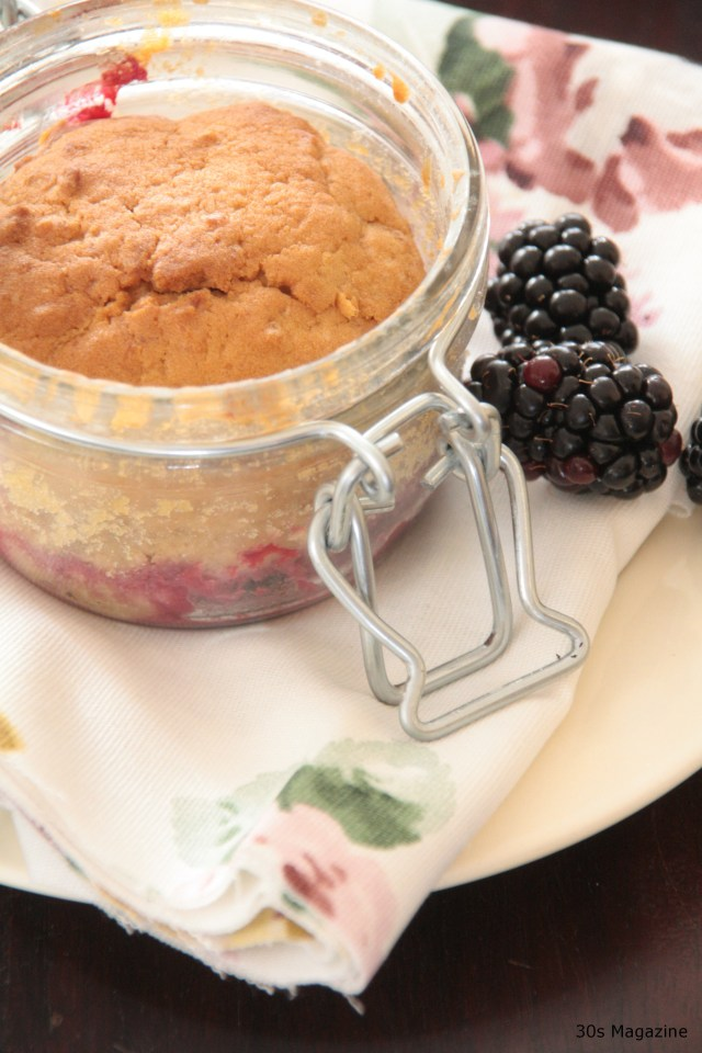 Fireside Treat: Apple-Blackberry Cake