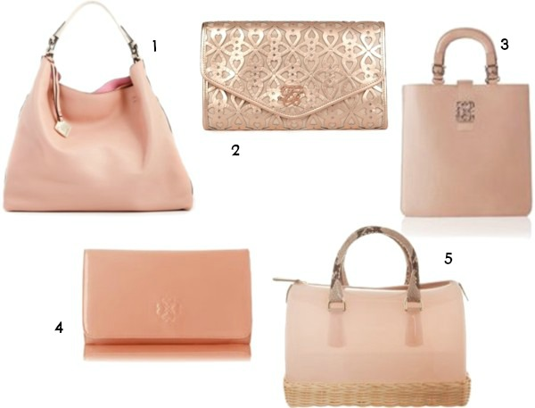 baby pink bags