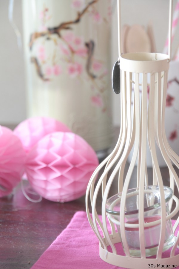 chinese lantern tealight
