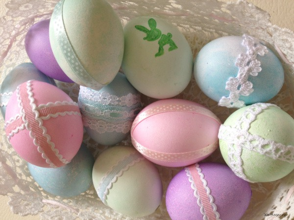 Easter eggs pastel 2