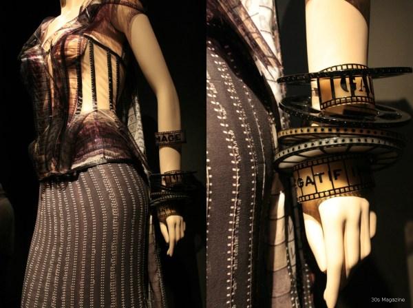 Jean Paul Gautier negatives dress