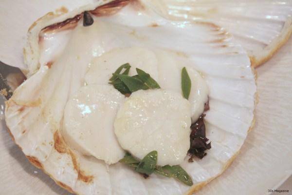scallops seaweed