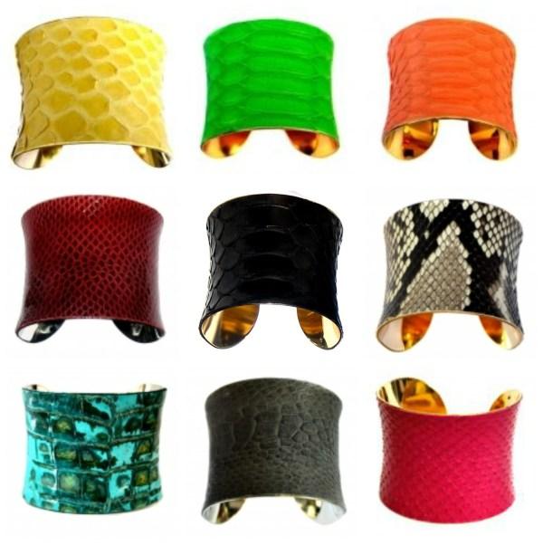 Hamu cuff bracelets