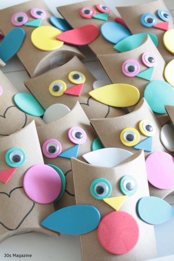 owl treat boxes