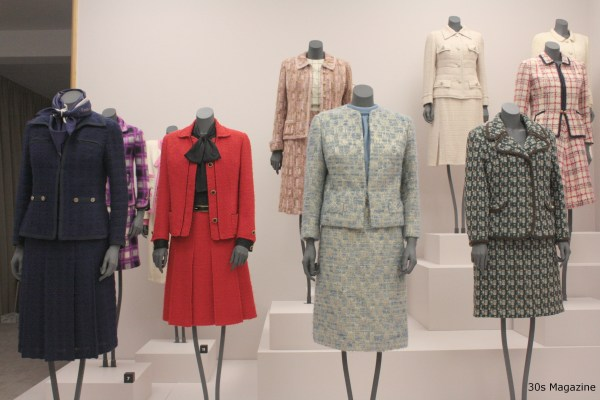 30s magazine - Chanel suits lined up