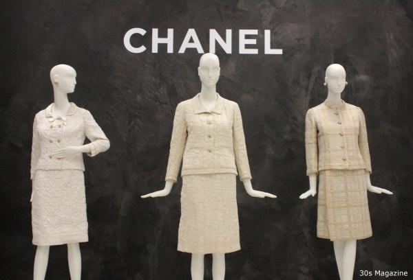 30s Magazine - Chanel white suits