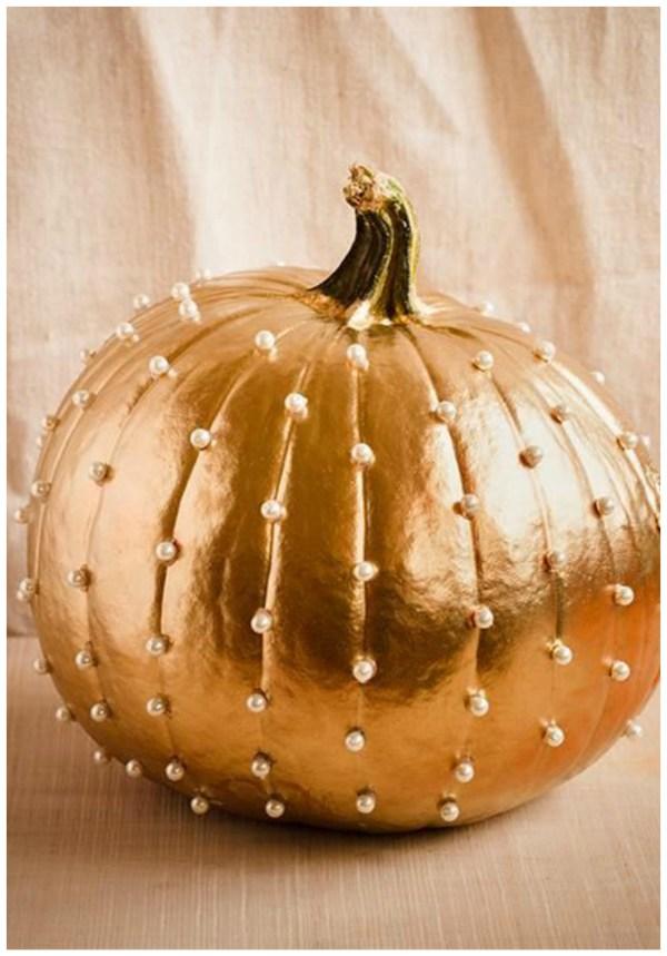 pearls pumpkin