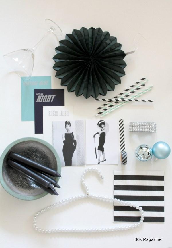 Audrey Hepburn Xms moodboard