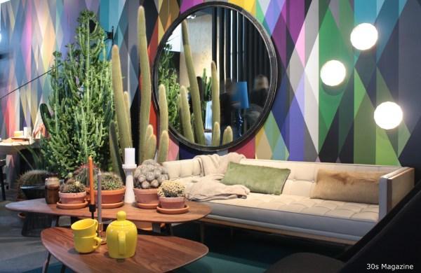 cacti and geometric wall