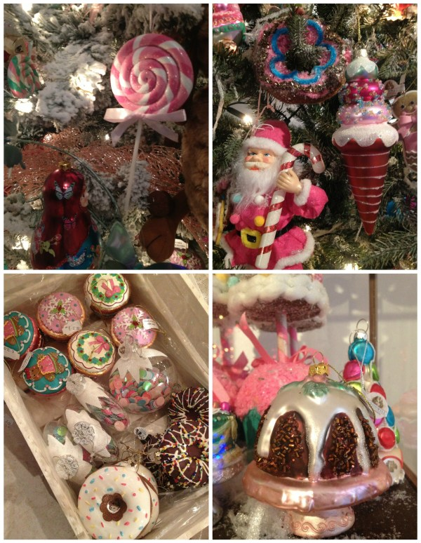 sweet food baubles