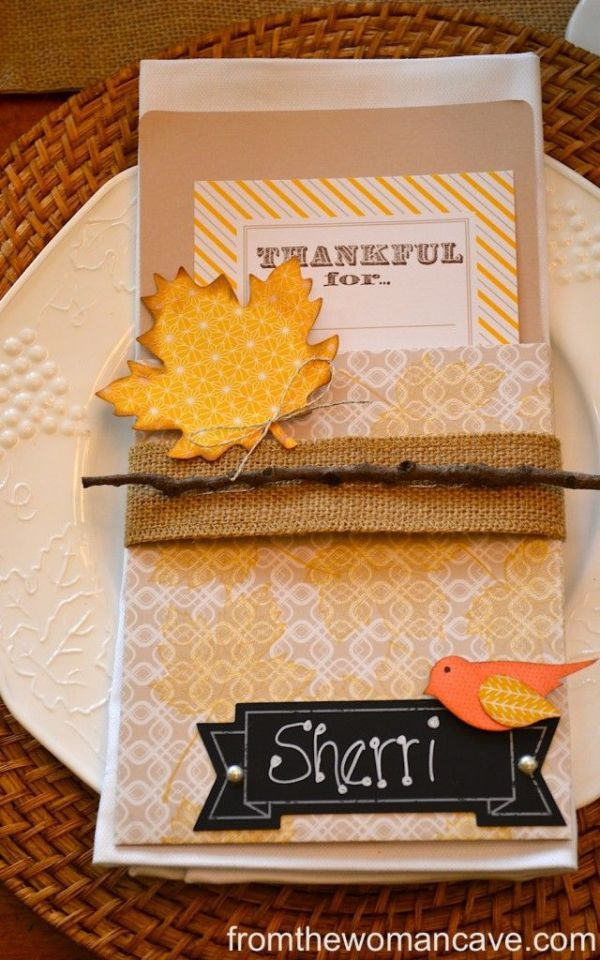 thanksgiving tables creation