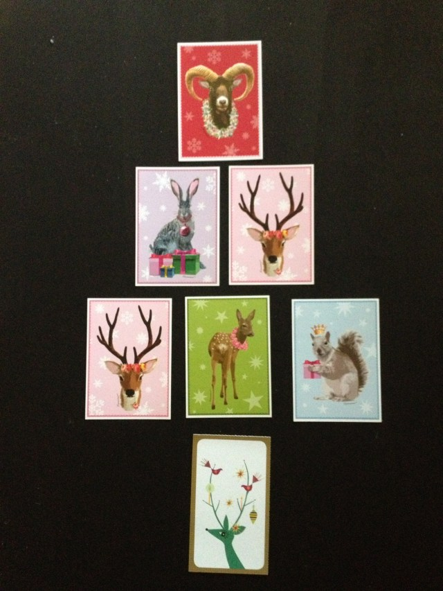 How to display your Christmas cards
