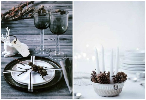 Tablesetting winter