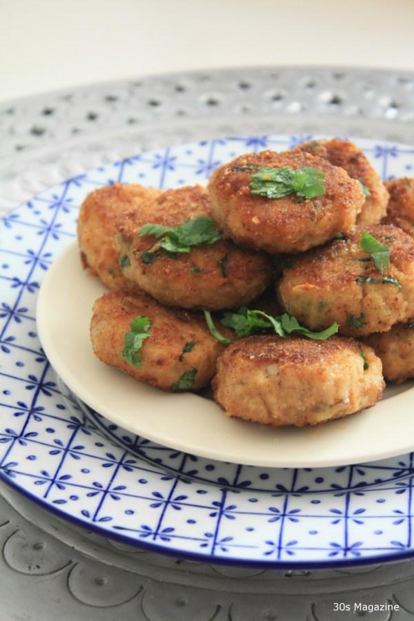 Mid Eastern chicken patties