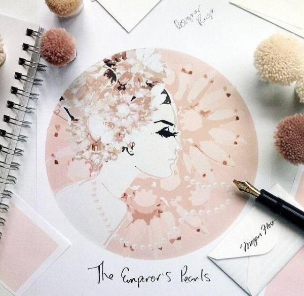 Megan hess rug design