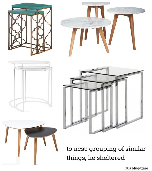 Trend: Nesting Tables