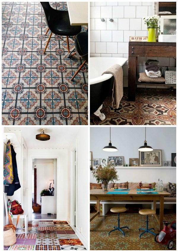 Portugese floor tiles