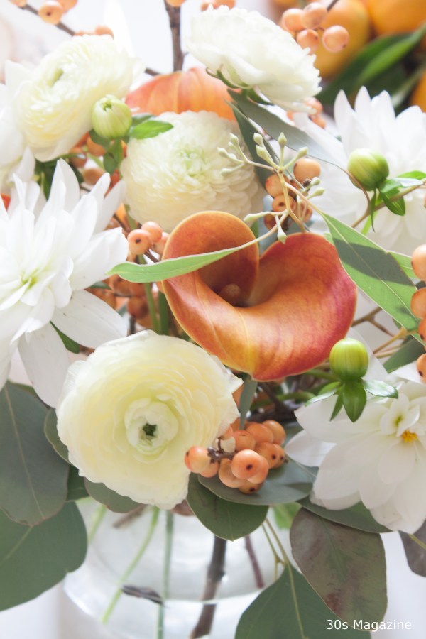thanksgiving flowers - 30s Magazine