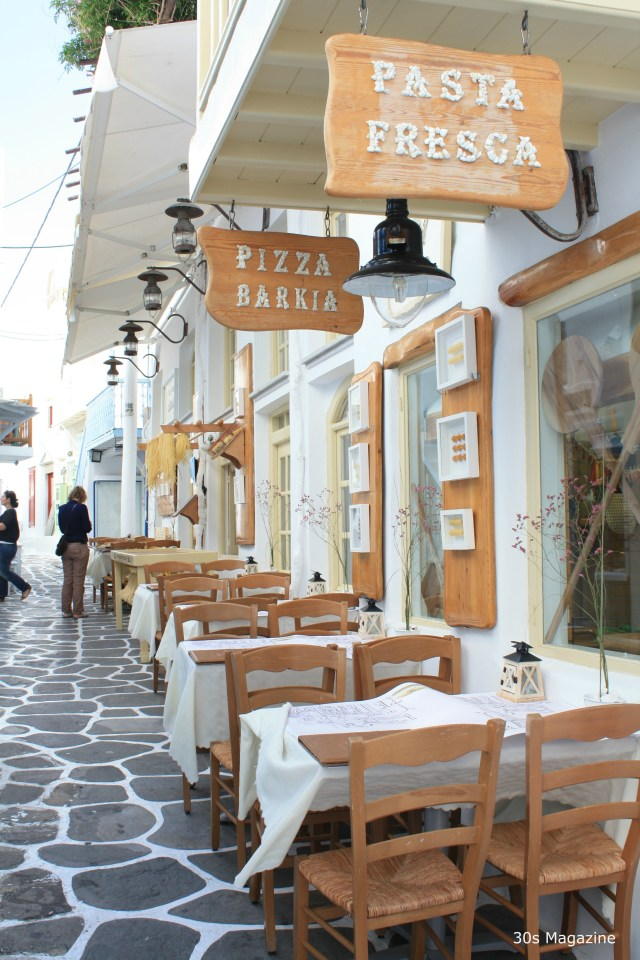 Where to eat in Mykonos town