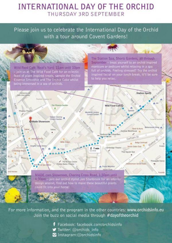 orchid route London