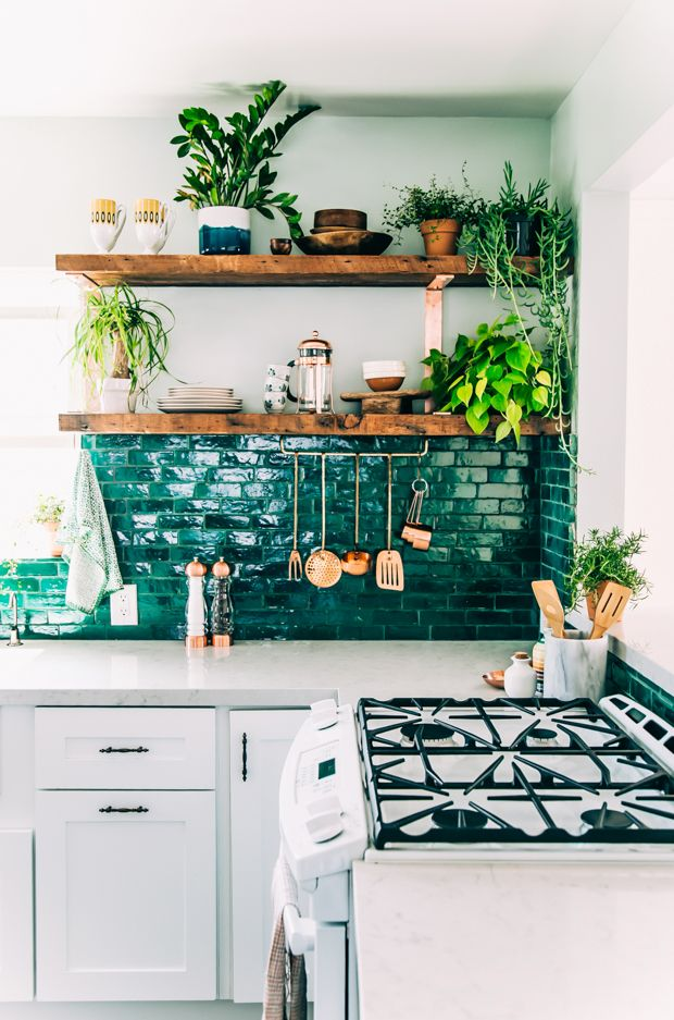 Trend: Green tiles