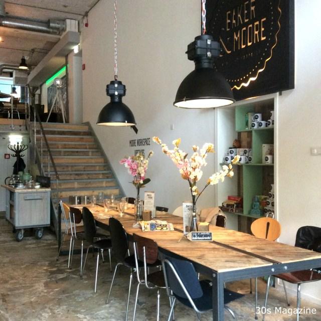Breakfast at Baker & Moore in Rotterdam