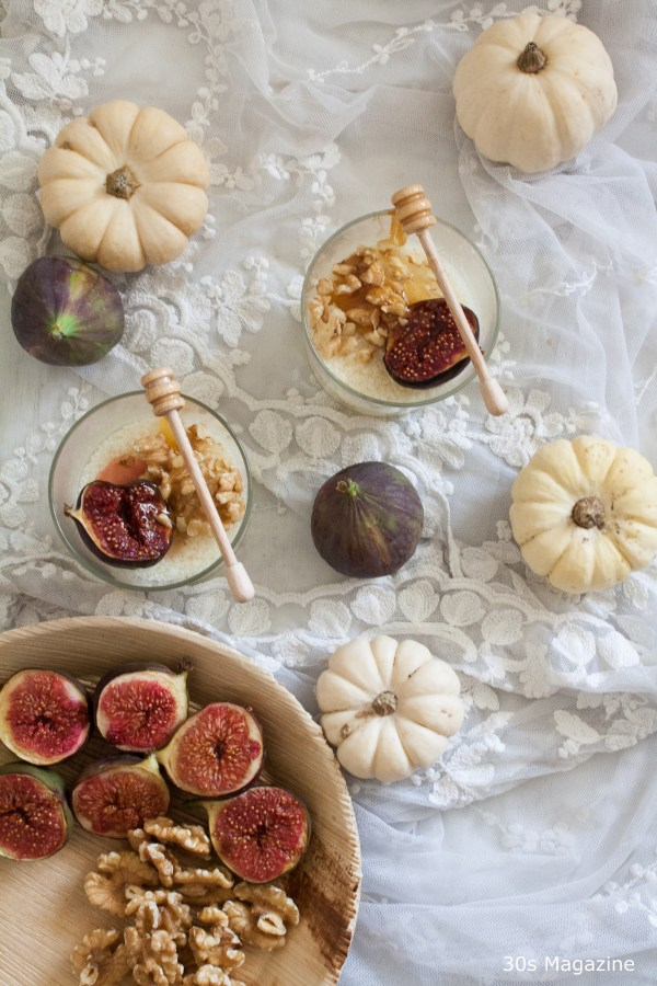 panacotta with figs