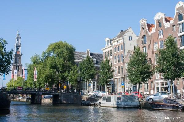 Amsterdam canal cruising