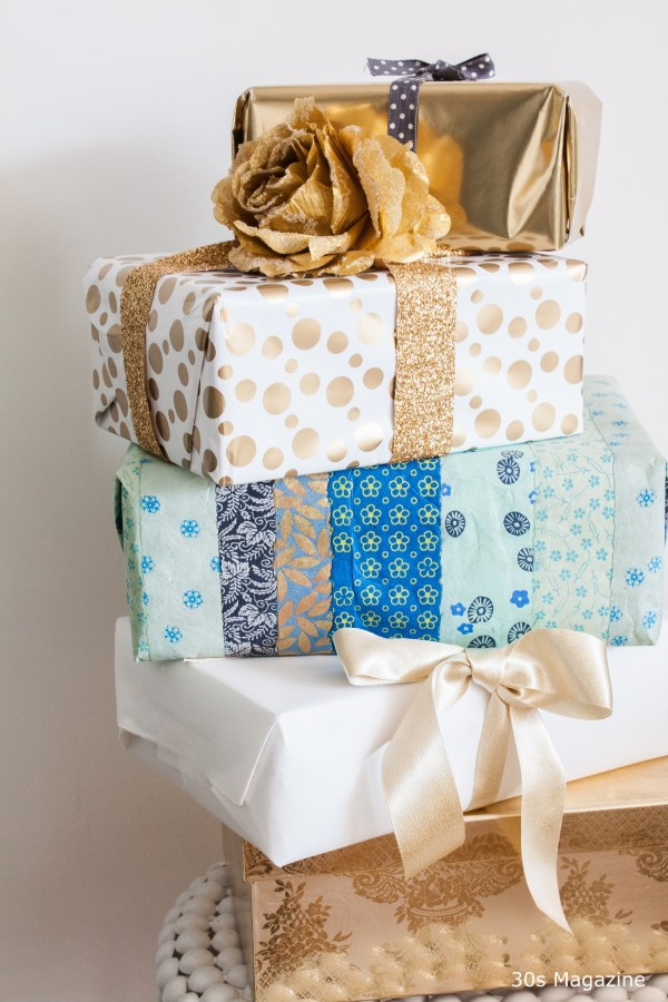 gift wrapping christmas