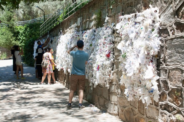 Wish wall at House of Virgin Mary