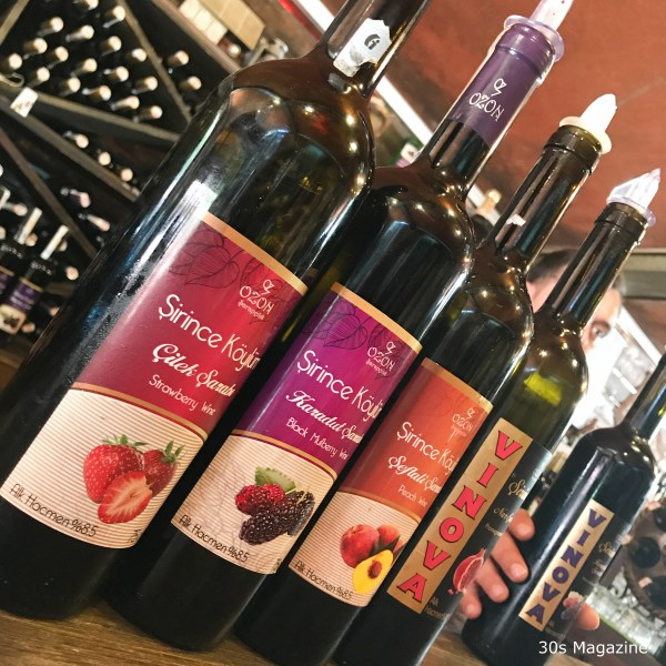 sirince wine