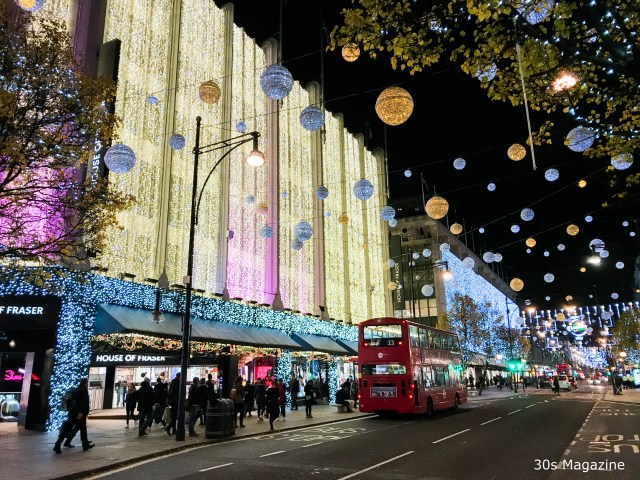 The Extended Guide to Christmas shopping in London
