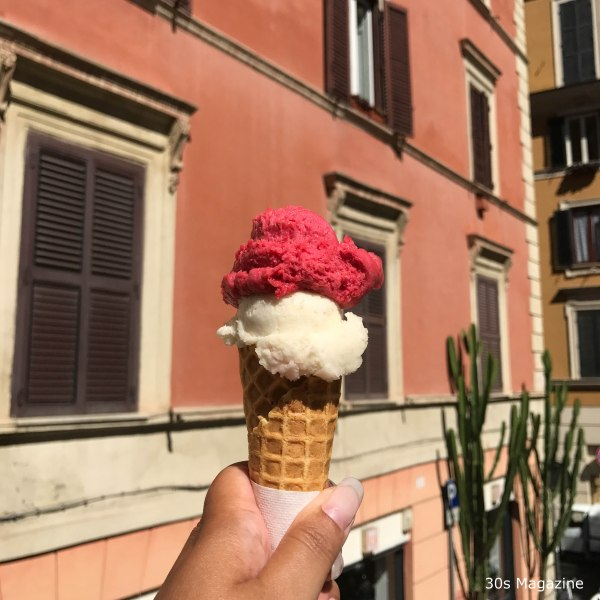 ice cream at Fata Morgana