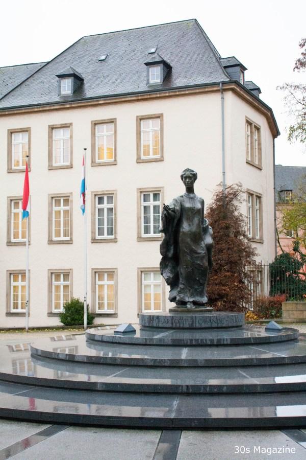 statue of Grand Duchess Charlotte