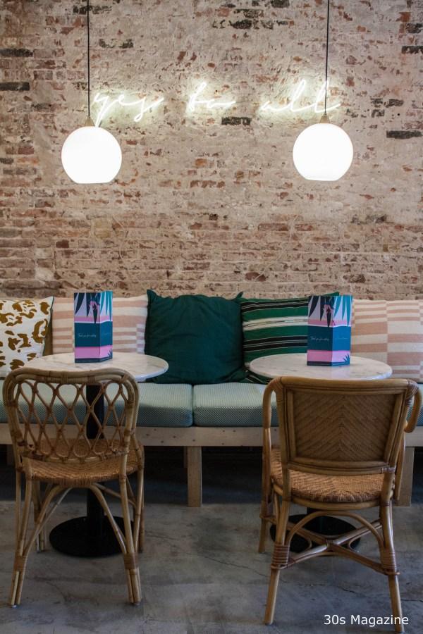 inside Cafe Martinus Haarlem