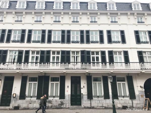 Front of Hotel Monastere Maastricht